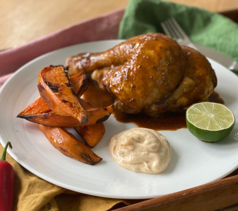 Glazed Marinated Chicken
