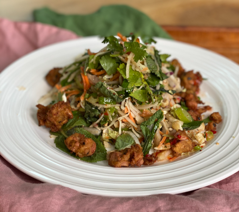 NEW: Jackfruit Fritters & Green Papaya Salad