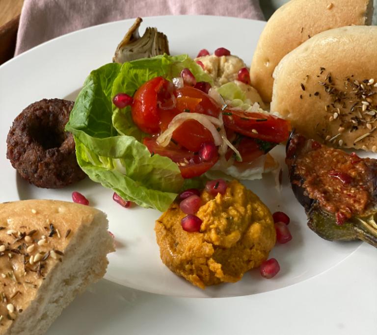 Moroccan Mezze Platter
