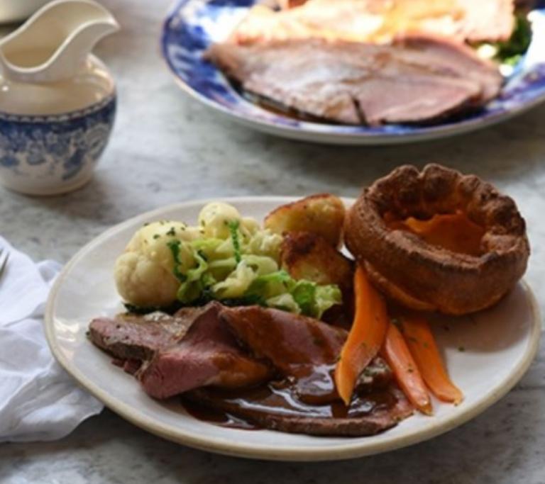 Roast Cornish beef & Yorkshire Pudding